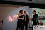 Match.com receiving Best Dating Site Award at the 2010 Internet Dating Industry Awards in Miami