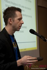 Dave Sanguinetti (CEO of Real-Gifts) at the 2013 Las Vegas Digital Dating Conference and Internet Dating Industry Event