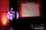 Maria Avgitidis announcing the Best Dating Software and SAAS at the 2013 iDate Awards