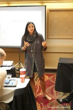 Marni Battista (CEO of Dating with Dignity) at the 2013 Internet Dating Super Conference in Las Vegas