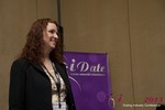 Melanie Gorman (SVP at YourTango) at the January 16-19, 2013 Internet Dating Super Conference in Las Vegas