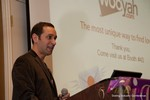 Mike Gregory (CEO of Wooyah) at the CEO Therapy session at the January 16-19, 2013 Las Vegas Internet Dating Super Conference