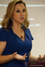 Rachel DeAlto (The Flirt Expert) at the January 16-19, 2013 Las Vegas Online Dating Industry Super Conference
