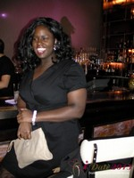 Charreah Jackson (Essence Magazine) at the Shadow Bar Party at the January 16-19, 2013 Internet Dating Super Conference in Las Vegas