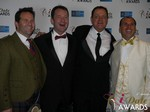 Michael O'Sullivan, Mark Brooks, Max McGuire and Marc Lesnick at the 2015 Internet Dating Industry Awards Ceremony in Las Vegas