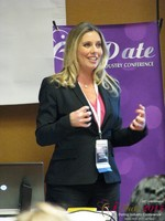 Author Laurel House - Speaking on Womens Empowerment and Online Dating at iDate Expo 2015 Las Vegas
