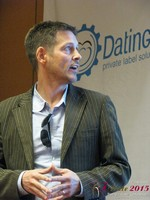 Justin Parfitt - CEO of HeyLets at the January 20-22, 2015 Internet Dating Super Conference in Las Vegas